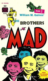 Cover Thumbnail for The Brothers Mad (Ballantine Books, 1958 series) #5 (U2105)