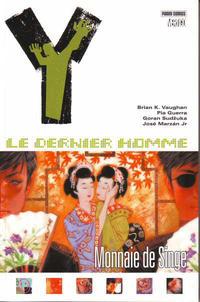 Cover Thumbnail for Y: Le Dernier Homme (Panini France, 2006 series) #8 - Monnaie de singe