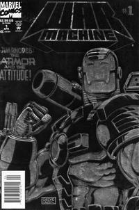 Cover Thumbnail for War Machine (Marvel, 1994 series) #1 [Newsstand Foil-Enhanced Cover]