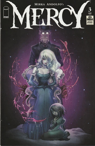 Cover for Mercy (Image, 2020 series) #3 [Cover A - Mirka Andolfo]