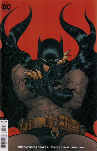 Cover for The Batman's Grave (DC, 2019 series) #8 [Bryan Hitch & Alex Sinclair Cover]