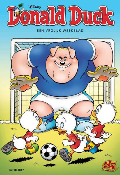Cover for Donald Duck (Sanoma Uitgevers, 2002 series) #10/2017