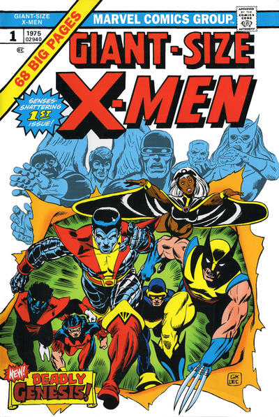 Cover for Uncanny X-Men Omnibus (Marvel, 2006 series) #1 [Fourth Edition]