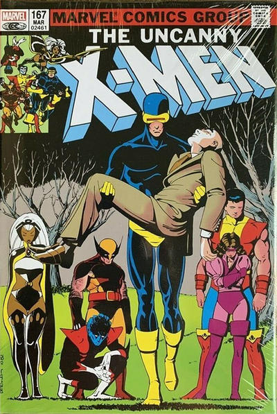 Cover for Uncanny X-Men Omnibus (Marvel, 2006 series) #3 [Second Edition, Opeña Cover]