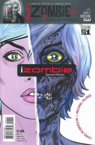 Cover for iZombie Special Edition (DC, 2015 series) #1