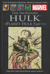 Cover for The Ultimate Graphic Novels Collection (Hachette Partworks, 2011 series) #45 - The Incredible Hulk: Planet Hulk Part 1