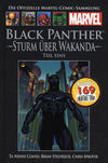 Cover for Die offizielle Marvel-Comic-Sammlung (Hachette [DE], 2013 series) #130 - Black Panther: Sturm über Wakanda (Teil eins)