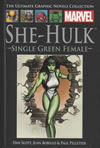 Cover for The Ultimate Graphic Novels Collection (Hachette Partworks, 2011 series) #35 - She-Hulk: Single Green Female