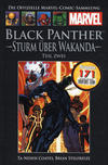 Cover for Die offizielle Marvel-Comic-Sammlung (Hachette [DE], 2013 series) #131 - Black Panther: Sturm über Wakanda (Teil zwei)