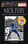 Cover for Die offizielle Marvel-Comic-Sammlung (Hachette [DE], 2013 series) #9 - Nick Fury: Agent von SHIELD, Teil 2