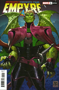 Cover Thumbnail for Empyre (Marvel, 2020 series) #1 [Cover E - Tony S Daniel Kree Skrull Cover]