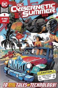 Cover Thumbnail for DC Cybernetic Summer (DC, 2020 series) #1