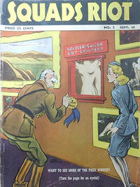 Cover Thumbnail for Squads Riot (Fawcett, 1941 series) #5