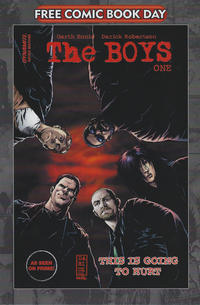 Cover for The Boys: #1. FCBD Printing (Dynamite Entertainment, 2020 series)