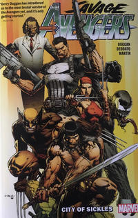 Cover Thumbnail for Savage Avengers (Marvel, 2020 series) #1 - The City of Sickles