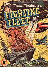 """Cover Thumbnail for """"Punch"""" Perkins of the Fighting Fleet (Magazine Management, 1950 series) #7"""