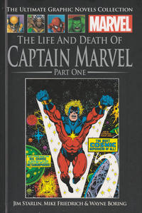 Cover Thumbnail for The Ultimate Graphic Novels Collection - Classic (Hachette Partworks, 2014 series) #24 - The Life and Death of Captain Marvel Part One