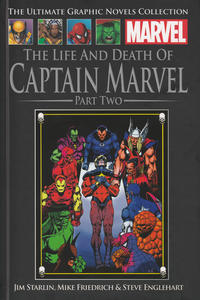 Cover Thumbnail for The Ultimate Graphic Novels Collection - Classic (Hachette Partworks, 2014 series) #25 - The Life and Death of Captain Marvel Part Two