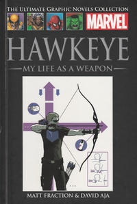 Cover Thumbnail for The Ultimate Graphic Novels Collection (Hachette Partworks, 2011 series) #81 - Hawkeye: My Life As a Weapon