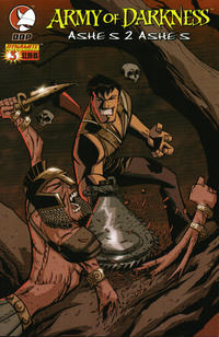 Cover Thumbnail for Army of Darkness: Ashes 2 Ashes (Devil's Due Publishing, 2004 series) #3 [Cover B - Michael Avon Oeming]