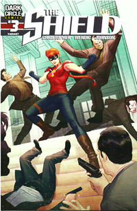 Cover Thumbnail for The Shield (Archie, 2015 series) #3 [Ron Salas Cover]
