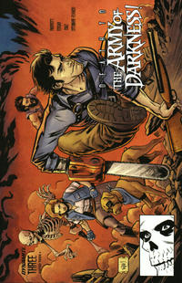 Cover Thumbnail for Death to the Army of Darkness (Dynamite Entertainment, 2020 series) #3 [Cover D Adam Gorham]