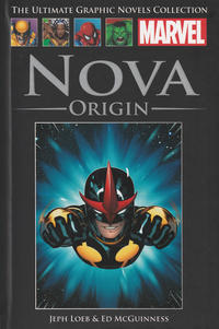 Cover Thumbnail for The Ultimate Graphic Novels Collection (Hachette Partworks, 2011 series) #91 - Nova: Origin