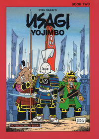 Cover Thumbnail for Usagi Yojimbo (Fantagraphics, 1987 series) #2 [Fourth Printing]
