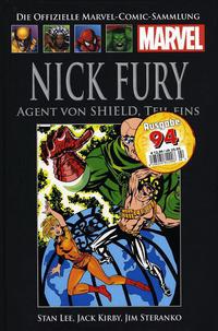 Cover Thumbnail for Die offizielle Marvel-Comic-Sammlung (Hachette [DE], 2013 series) #8 - Nick Fury: Agent von SHIELD, Teil 1