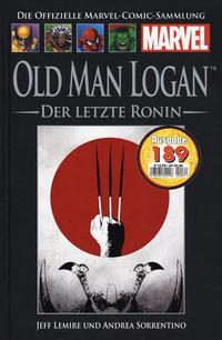 Cover Thumbnail for Die offizielle Marvel-Comic-Sammlung (Hachette [DE], 2013 series) #134 - Old Man Logan: Der letzte Ronin