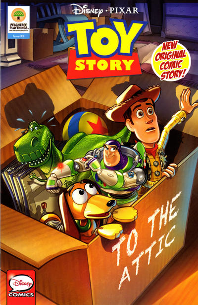 Cover for Disney·Pixar Toy Story (Peachtree Playthings, 2019 series) #3