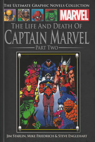 Cover for The Ultimate Graphic Novels Collection - Classic (Hachette Partworks, 2014 series) #25 - The Life and Death of Captain Marvel Part Two
