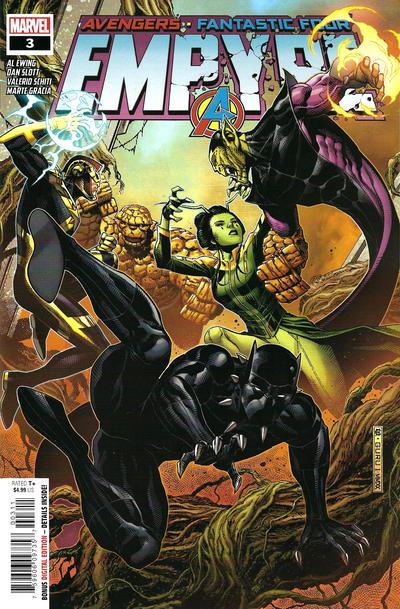 Cover for Empyre (Marvel, 2020 series) #3 [2nd Printing John Tyler Christopher Variant Cover]