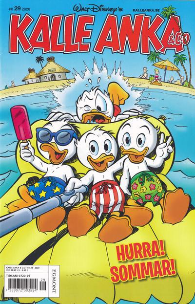 Cover for Kalle Anka & C:o (Egmont, 1997 series) #29/2020