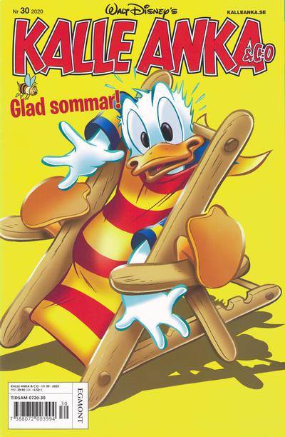 Cover for Kalle Anka & C:o (Egmont, 1997 series) #30/2020