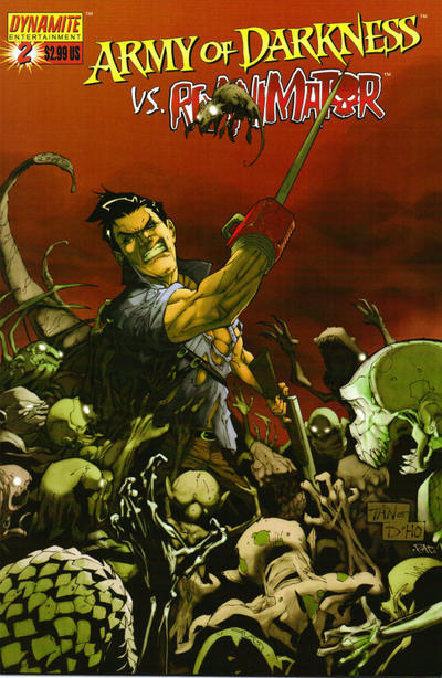 Cover for Army of Darkness vs. Re-Animator (Dynamite Entertainment, 2005 series) #2