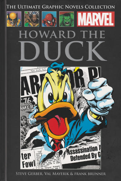 Cover for The Ultimate Graphic Novels Collection - Classic (Hachette Partworks, 2014 series) #29 - Howard the Duck