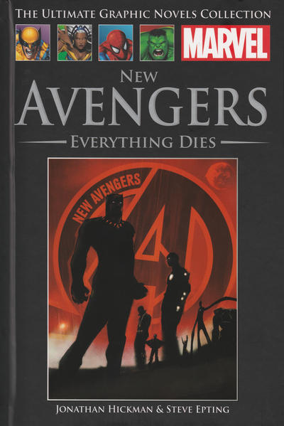 Cover for The Ultimate Graphic Novels Collection (Hachette Partworks, 2011 series) #88 - New Avengers: Everything Dies