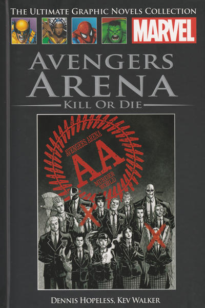Cover for The Ultimate Graphic Novels Collection (Hachette Partworks, 2011 series) #94 - Avengers Arena: Kill or Die
