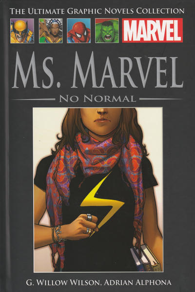Cover for The Ultimate Graphic Novels Collection (Hachette Partworks, 2011 series) #95 - Ms. Marvel: No Normal