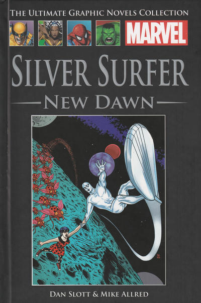 Cover for The Ultimate Graphic Novels Collection (Hachette Partworks, 2011 series) #96 - Silver Surfer: New Dawn