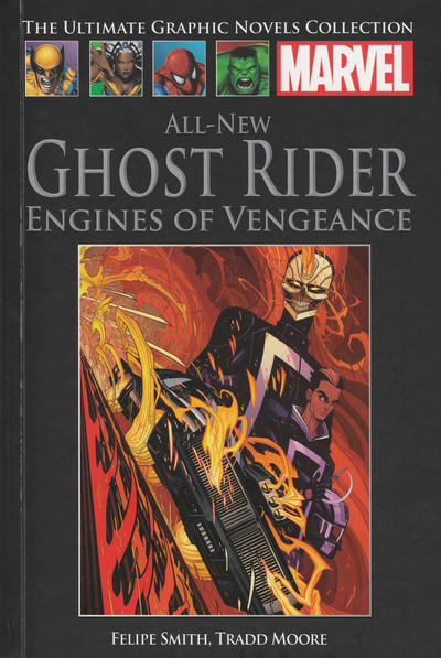 Cover for The Ultimate Graphic Novels Collection (Hachette Partworks, 2011 series) #97 - All New Ghost Rider: Engines of Vengeance