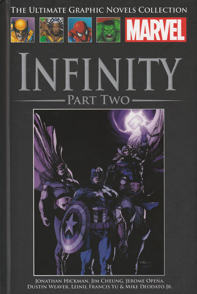 Cover for The Ultimate Graphic Novels Collection (Hachette Partworks, 2011 series) #93 - Infinity Part Two