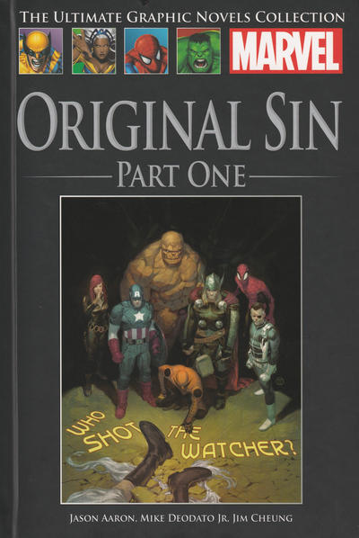 Cover for The Ultimate Graphic Novels Collection (Hachette Partworks, 2011 series) #98 - Original Sin Part One