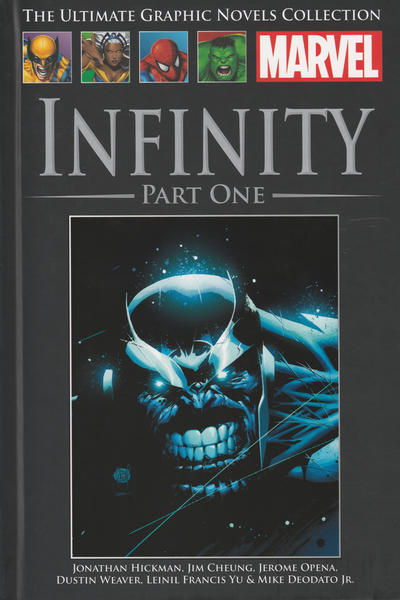 Cover for The Ultimate Graphic Novels Collection (Hachette Partworks, 2011 series) #92 - Infinity Part One