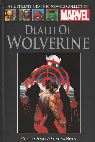 Cover for The Ultimate Graphic Novels Collection (Hachette Partworks, 2011 series) #100 - Death of Wolverine