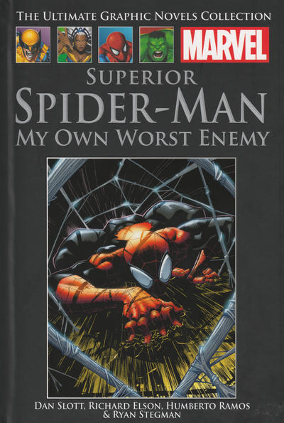 Cover for The Ultimate Graphic Novels Collection (Hachette Partworks, 2011 series) #89 - Superior Spider-Man: My Own Worst Enemy