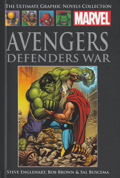 Cover for The Ultimate Graphic Novels Collection - Classic (Hachette Partworks, 2014 series) #27 - Avengers: Defenders War