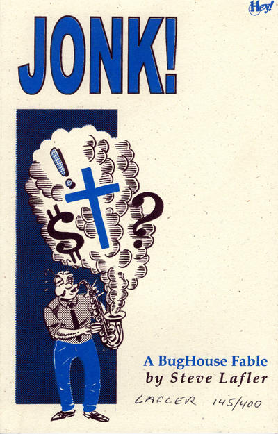 Cover for Jonk!: A Bughouse Fable (Cat-Head Comics, 1998 series)