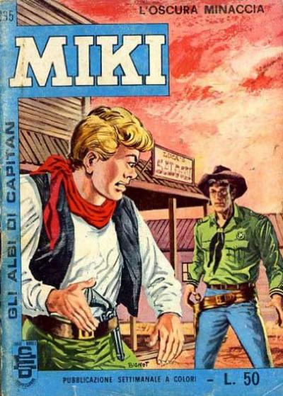 Cover for Gli Albi di Capitan Miki (Casa Editrice Dardo, 1962 series) #335